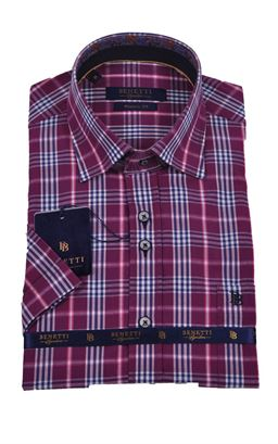 Picture of Benetti Short Sleeve Shirt Carl