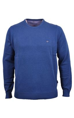 Picture of Fynch-Hatton Crew Neck Pullover 1120-210