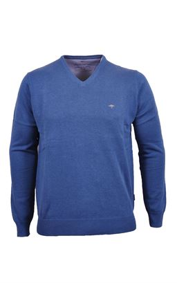 Picture of Fynch Hatton V-Neck Pullover 1120-211