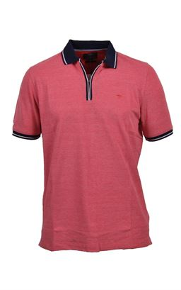Picture of Fynch -Hatton Zip Polo Shirt 1120-1754
