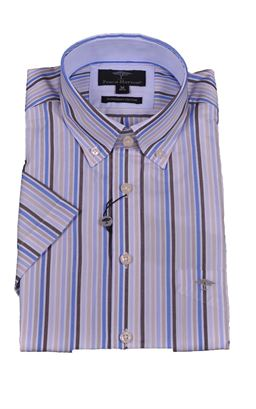 Picture of Fynch-Hatton Short Sleeve Shirt 1120-8061