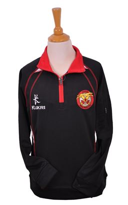 Picture of Limavady HS Half Zip Track Top - Kukri