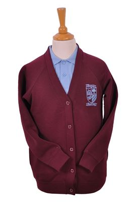 Picture of Damhead PS Sweat Cardigan - Woodbank