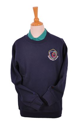 Picture of Sandelford School Sweatshirt - Blue Max