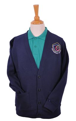 Picture of Sandelford Sweat Cardigan - Blue Max