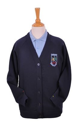Picture of Garvagh PS Sweat Cardigan - Woodbank