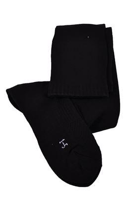 Picture of Plain Black Sport Socks - Blue Max