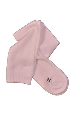 Picture of Plain White Sports Socks - Blue Max