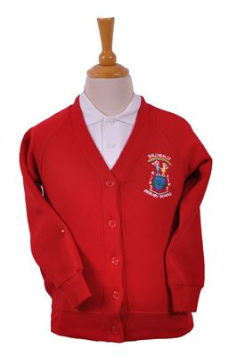 Picture of Ballysally PS Sweat Cardigan - Woodbank
