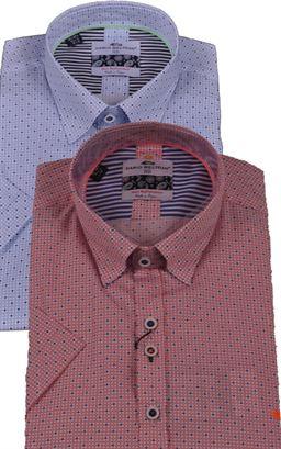 Picture of Dario Beltran Short Sleeve Shirt Badia