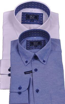 Picture of Daniel Grahame Long Sleeve Shirt Drifter  15178