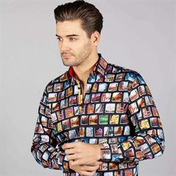 Picture of Claudio Lugli Long Sleeve Shirt CP6657