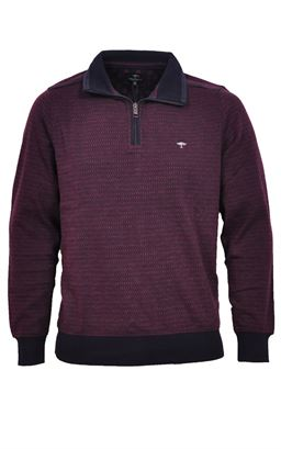 Picture of Fynch Hatton 1/4 Zip Pullover 1220-3200