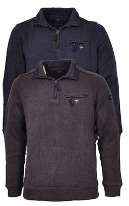 Picture of Fynch Hatton 1/4 Zip Pullover 1220-3300