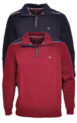Picture of Fynch Hatton 1/4 Zip Pullover 1220-3000
