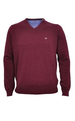 Picture of Fynch Hatton V Neck Pullover 1220-211