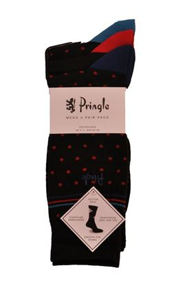 Picture of Pringle Sock Ted L7026