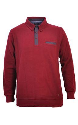 Picture of Daniel Grahame 1/2 Button Sweatshirt 55116
