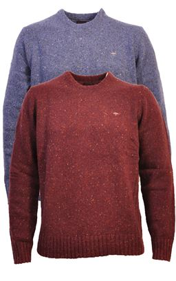 Picture of Fynch Hatton Crew Neck Pullover 1220-400