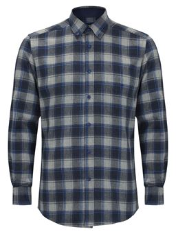 Picture of Daniel Grahame Long Sleeve Shirt Drifter  15548