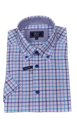 Picture of Daniel Grahame Short Sleeve Shirt Drifter 14308SS