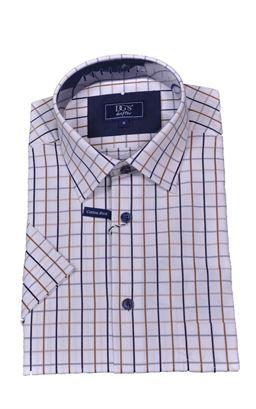 Picture of Daniel Grahame Short Sleeve Shirt Drifter 15595SS