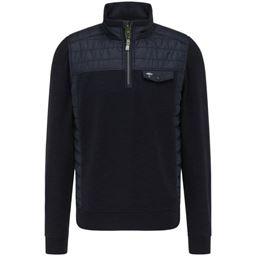 Picture of Fynch Hatton Zip Sweatshirt 1121-3000
