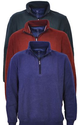 Picture of Daniel Grahame Zip Pullover Drifter 55112